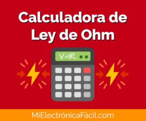 Calculadora Ley de Ohm Online
