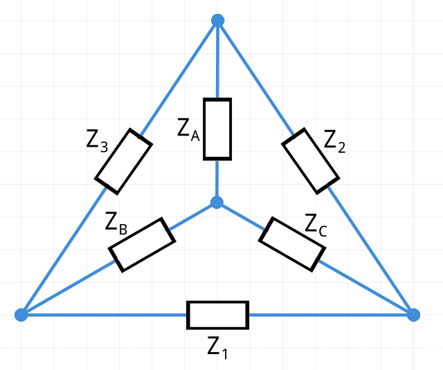 Teorema de Kennelly transformación estrella-delta transformación delta-estrella