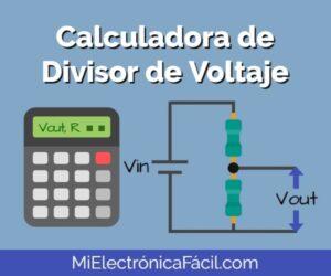 Calculadora de Divisor de Voltaje Online