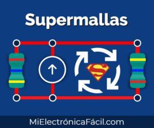 Supermallas, fuente independiente y dependiente